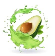 avocado ingredienti di crema