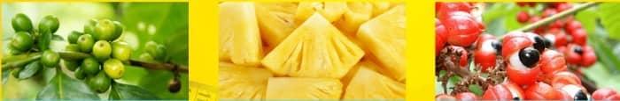 ingredienti ananas guarana