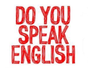 Do you speak English Text
