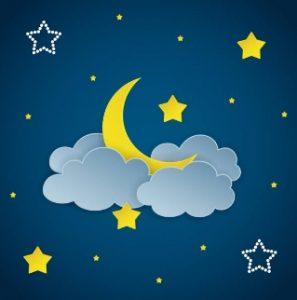 good night herbal complex Italia luna con le nuvole