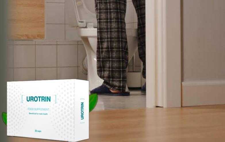 Urotrin e uomo nella toilette