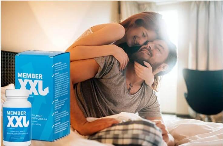 member xxl, coppia felice a letto