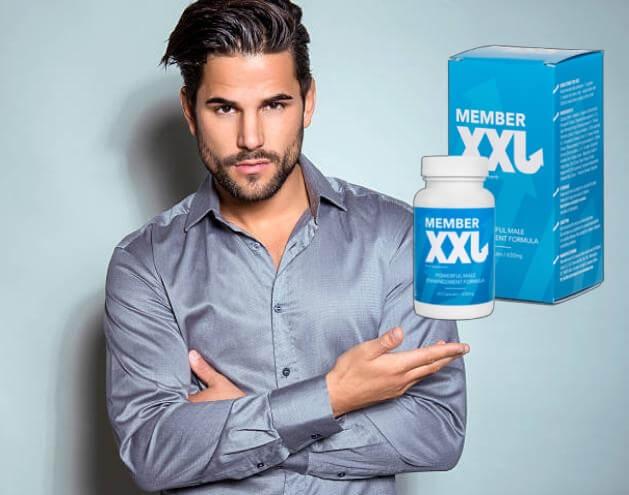 Member XXL, uomo con fiducia