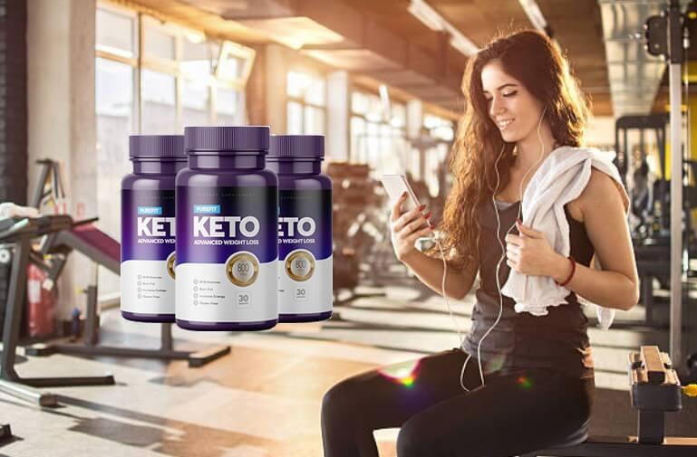 Purefit KETO, donna in forma fisica