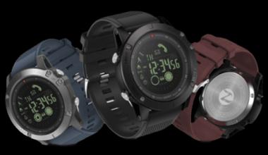 tre colori dell'orologio, TAC25 smartwatch