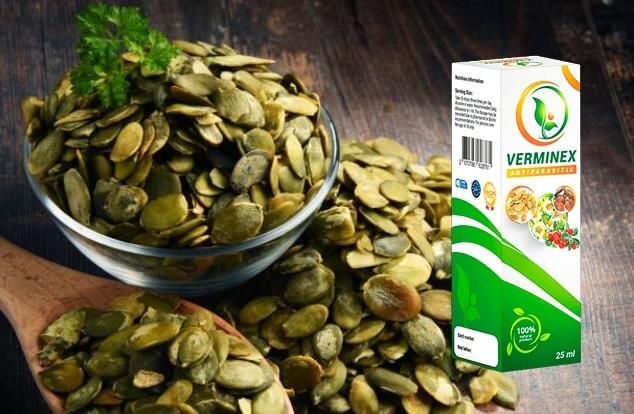 Verminex, semi di zucca