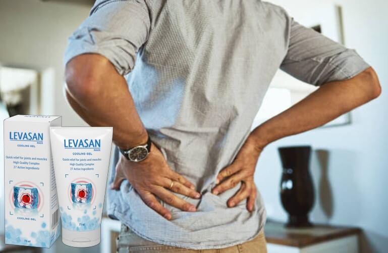 Levasan Maxx, uomo con dolore alla schiena