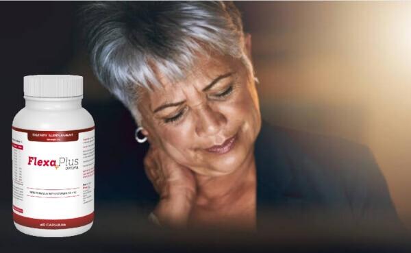 Flexa Plus Optima, donna con dolore al collo