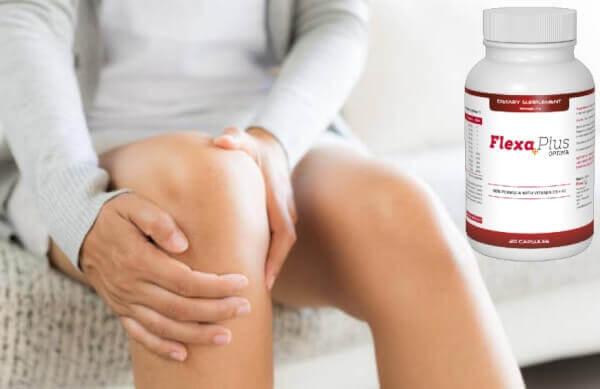 Flexa Plus Optima, donna con dolore al ginocchio