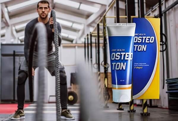 osteoton, uomo in palestra