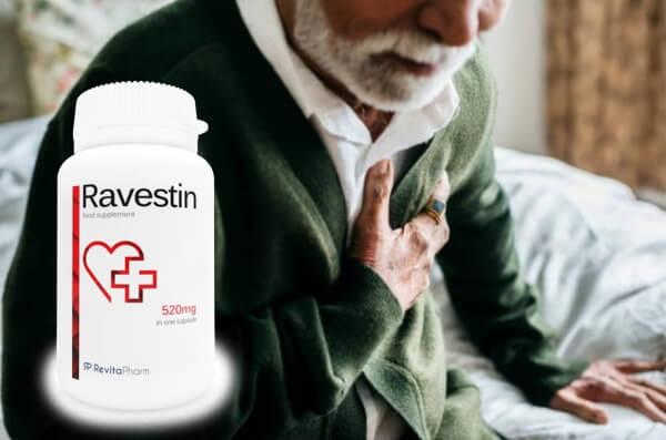 Ravestin, vecchio con malattie cardiache