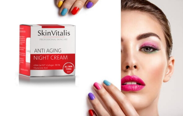 night cream per giovane donna