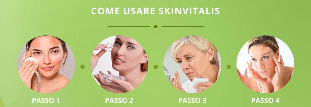 Come usare SkinVitalis?