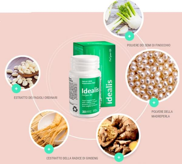 Idealis ingredients