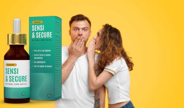Auresoil Sensi & Secure, donna e uomo sorpresi