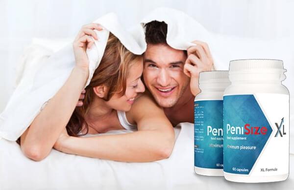 Penisize XL, uomo e donna a letto