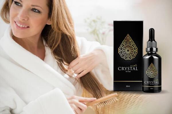 Crystal Eluxir, donna, capelli