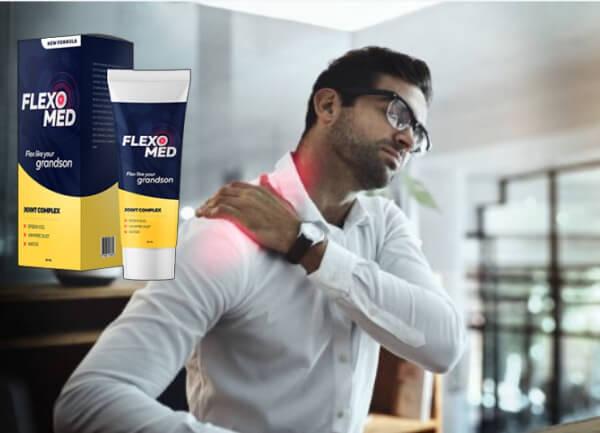 FlexoMed Gel, uomo con dolore alla schiena