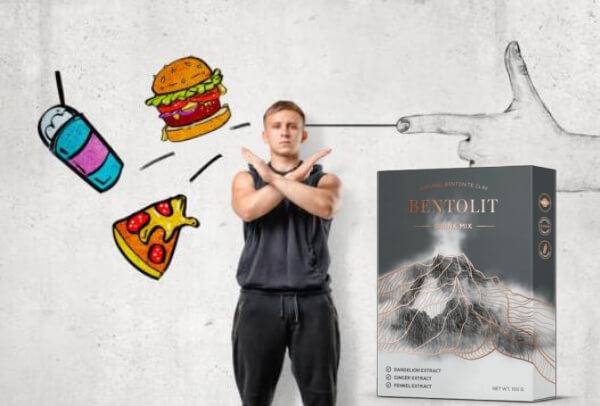 uomo, cibo spazzatura, perdita di peso