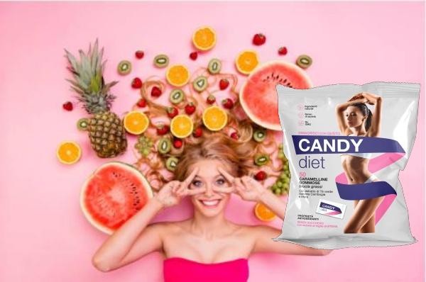 Candy Diet, donna, dieta, caramelle