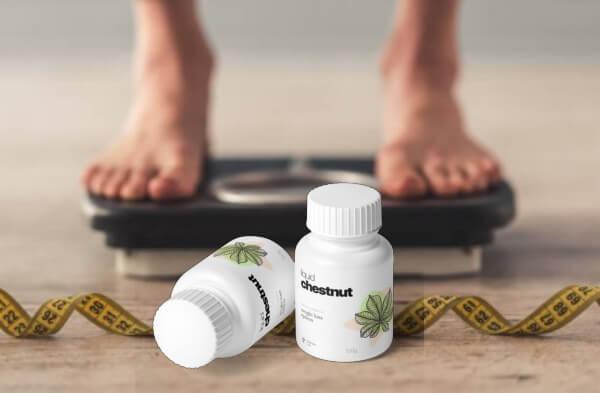 perdita di peso, scala del peso, liquid chestnut