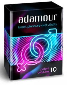 Adamour capsule per potenza maschile Italia