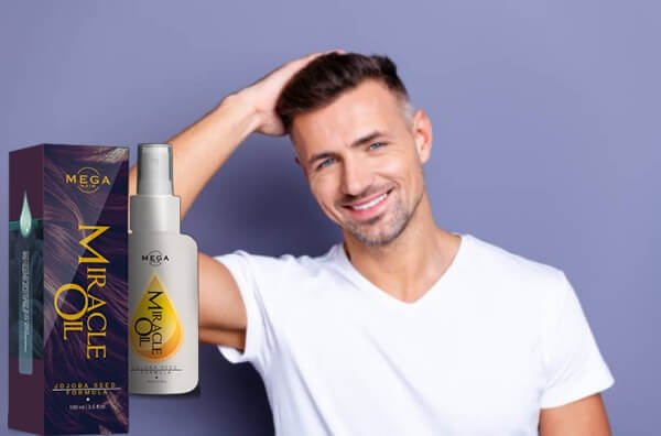 mega hair miracle oil, uomo, capelli