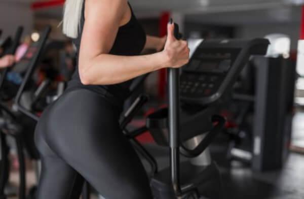 donna, leggings, slimblack, fitness