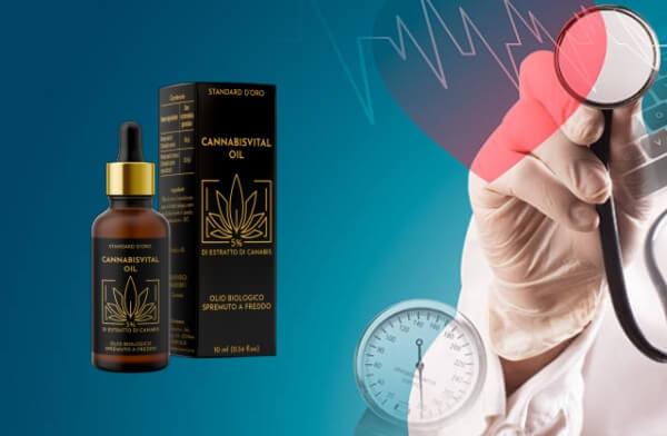 cannabisvital oil gocce, Alta pressione sanguigna, ipertensione