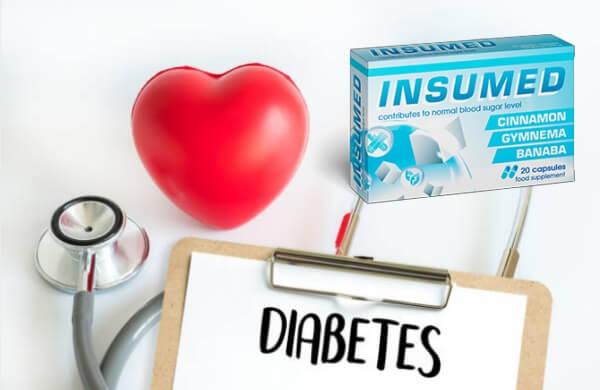 insumed capsule, livelli di zucchero nel sangue, diabete