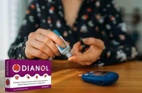 dianol capsule, diabete, donna