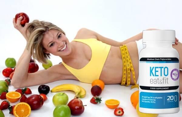 keto eat fit, ingredienti, donna, perdita di peso