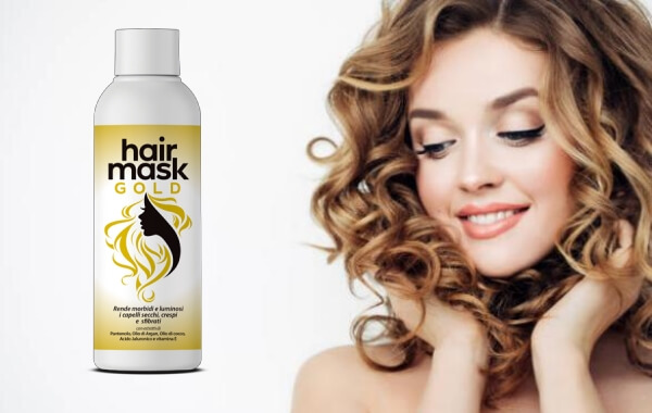 capelli, hair mask gold