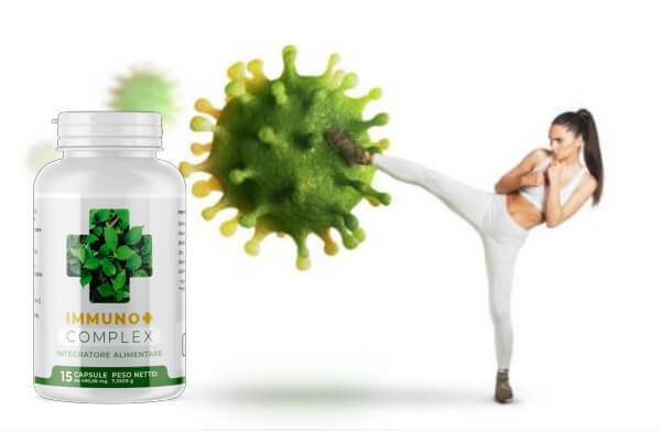immuno+ complex capsule, salute, sistema immunitario