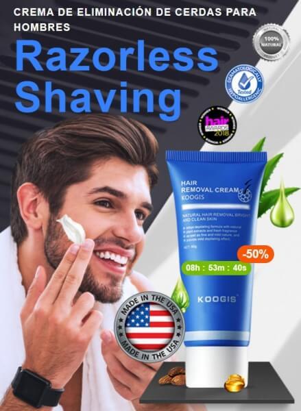koogis razorless shaving crema prezzo