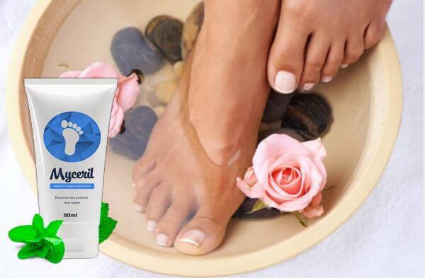 myceril crema, piedi, funghi