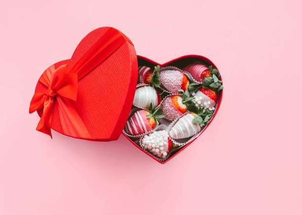 fragole, cioccolato