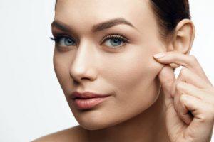 faccia femminile bella Alimenti collagene