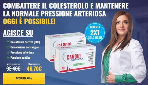 Cardio Benessere Colesterolo prezzo