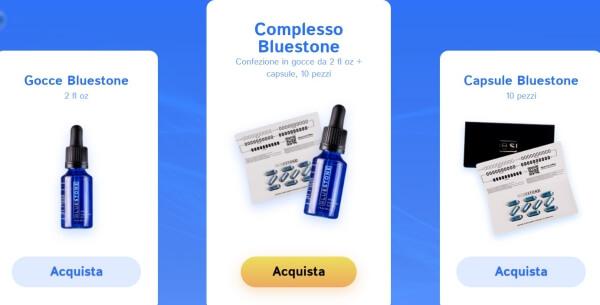 BlueStone Prezzo Italia