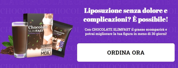 chocolate slimfast prezzo italia