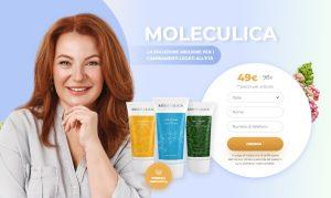 Moleculica  – prodotti naturali per la cura della pelle dagli effetti sorprendenti. Opinioni e prezzo in Italia