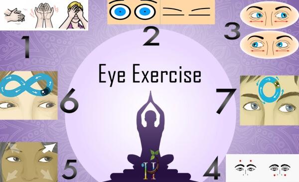 Esercizio Rotary Yoga-Occhio!