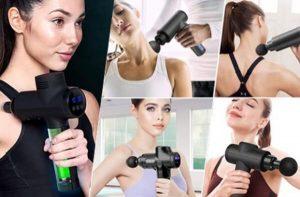Massage Gun – Sollievo dal dolore shock con massaggio a percussione!