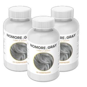 NoMore Gray capsule per capelli Recensione Italia