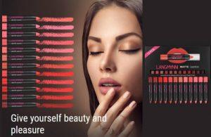 Langmanni Matte Lipstick Set Recensione – Un set di bellezza con penna naturale impermeabile da 12 pezzi!